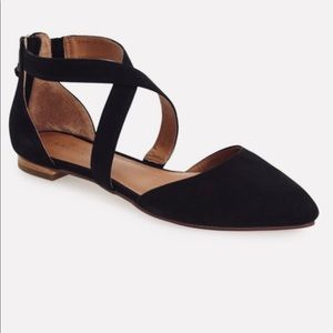 Caslon strappy pointes toe flats